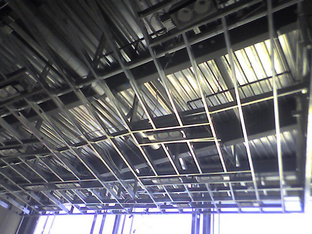 commercial metal high ceiling